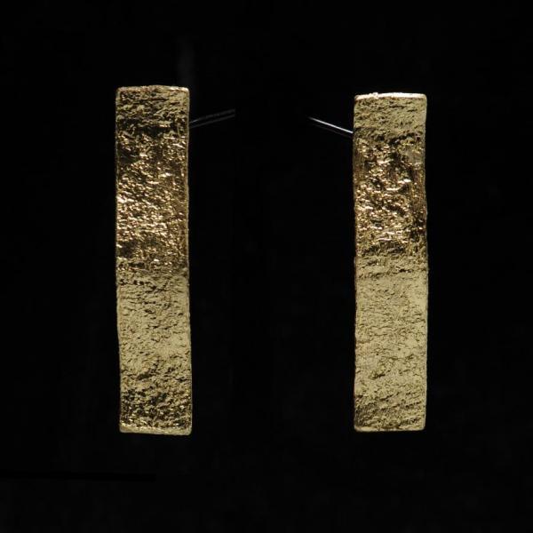 Rectangle ondulé bronze, 45 euros
