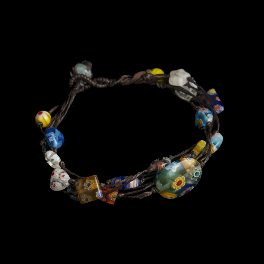 Bracelet perles de verre  20 euros