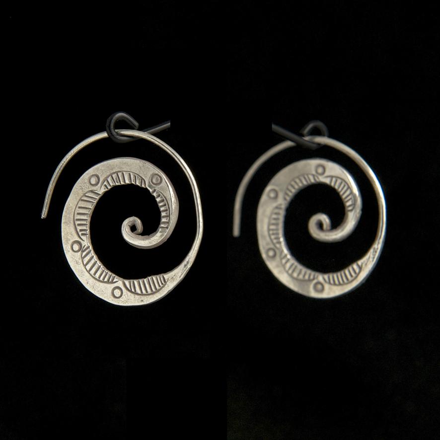 Spirales décorées, 45 euros