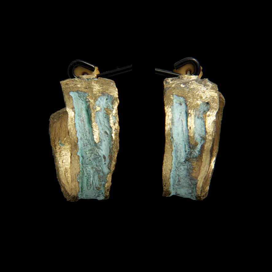 Boucles bronze, créateur grec  52 euros
